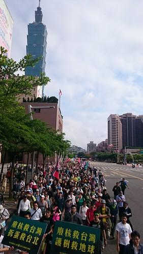 25日「拆蛋」遊行,約有3500人參與