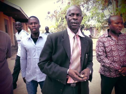 President of CEDAG Omar Sey