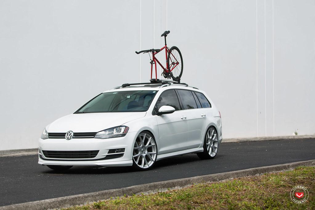 Mk7 Golf R >> VW Mk7 Golf Sportwagen - Vossen VFS-6 - © Vossen Wheels 20…   Flickr