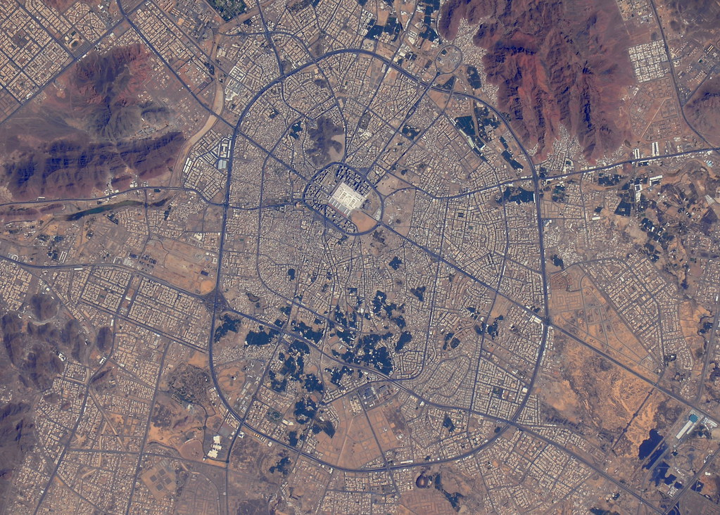 Medina | The city of Medina, Saudi Arabia Credits: ESA ...
