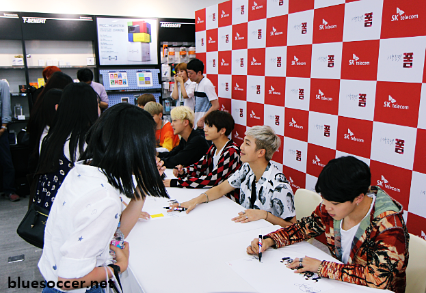 Picture Bts At Sk Telecom X Bts Fansigning Event 160605