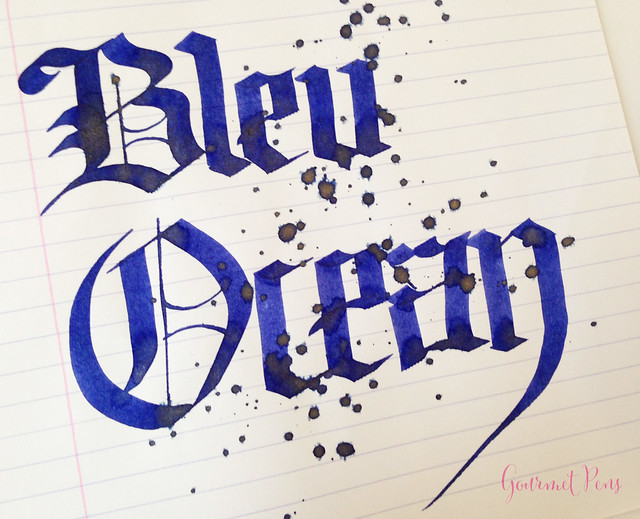 Ink Shot Review J. Herbin Bleu Ocean @BureauDirect (8)
