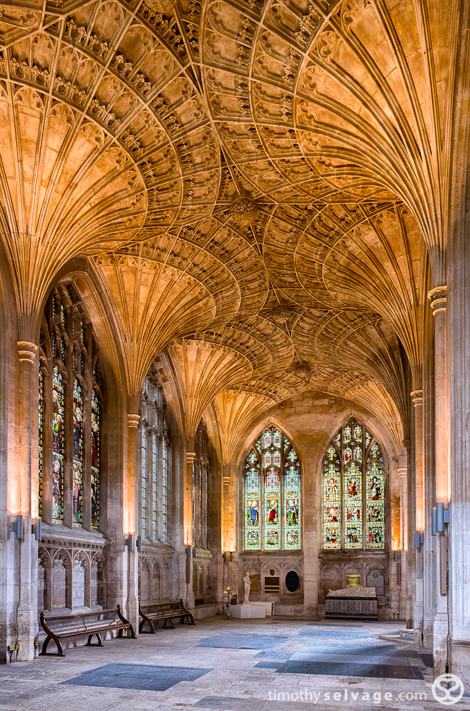 Interior Architecture Peterborough Cathedral Fan Vaulted C
