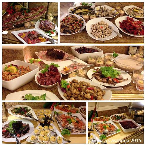Peternhof Abendessen 2 Vorspeisenbuffet