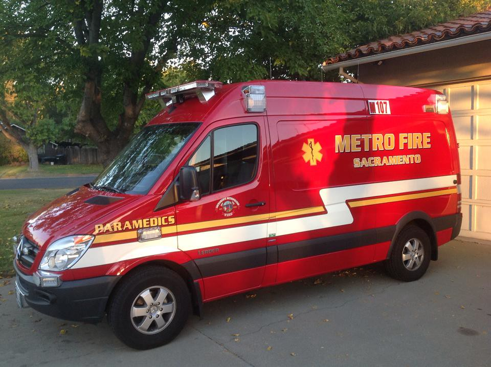 California Ambulance A Mercedes Benz Sprinter 2500 High