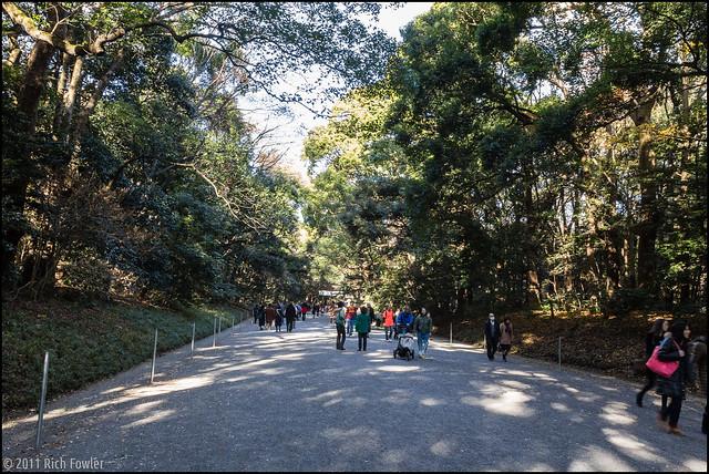 Meiji Jinguu Gardens.