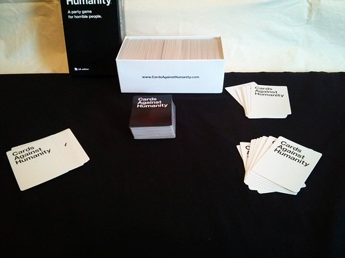 011 - Cards Against Humanity Set Up