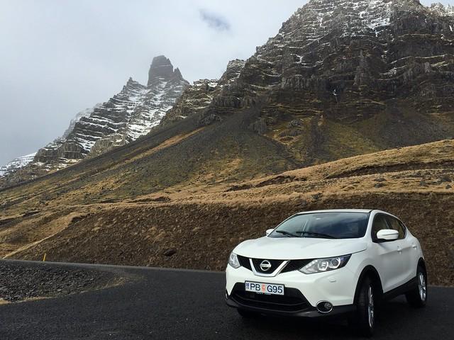 Mi coche de alquiler en el viaje a Islandia de 2015