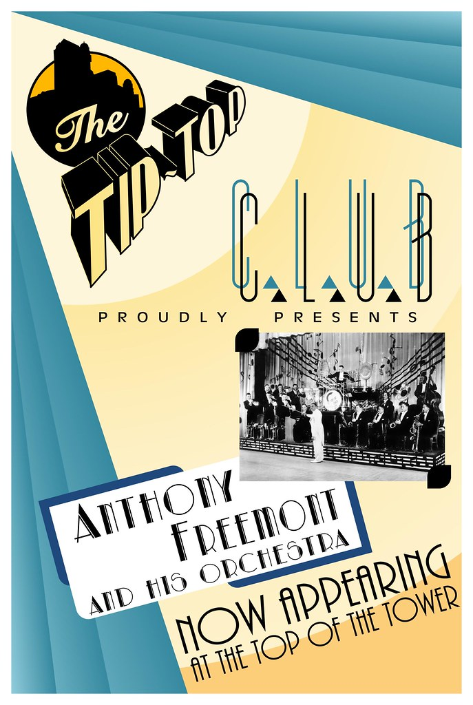 Tip Top Club Poster - Hollywood Tower Hotel - DCA Edition | Flickr