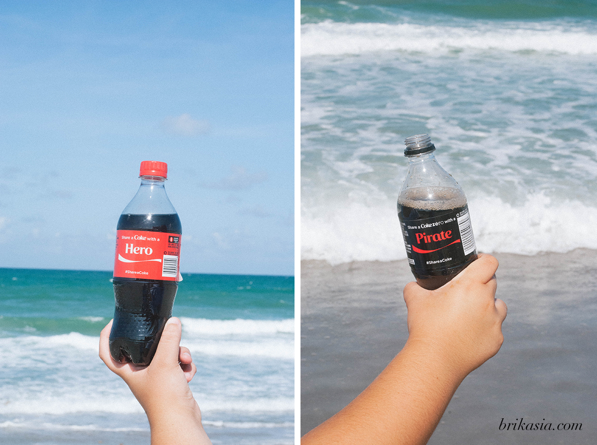 coke happy hour, share a coke, coca cola, summer memories, tips for spending a whole day at the beach, walgreens