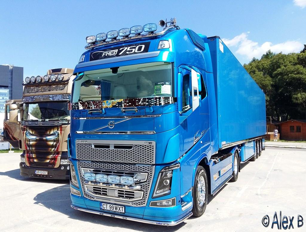 Ro Volvo Fh16 750 Mamafrigo Lex 223 Flickr