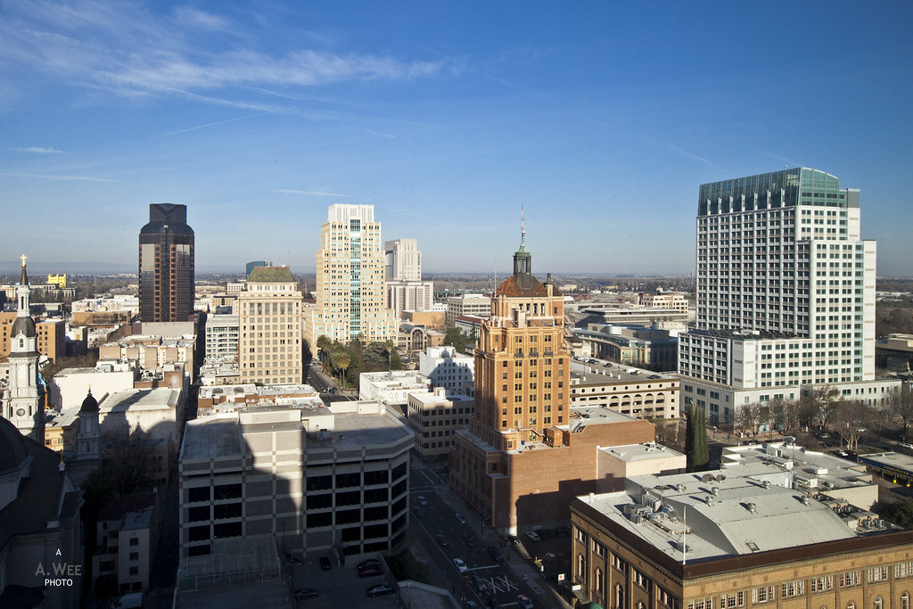 View of Downtown Sacramento
