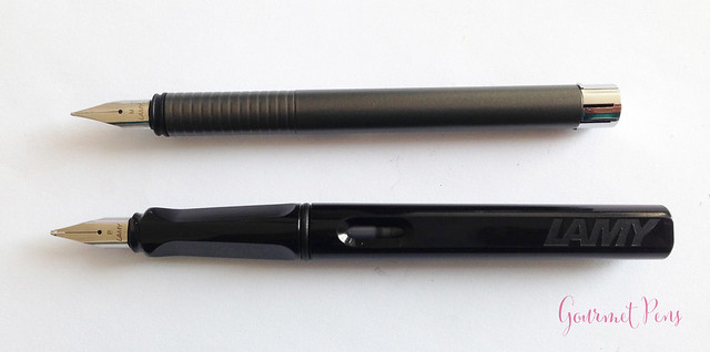 Review Lamy Logo Cliff Grey Fountain Pen @Fontoplum0 @Lamy (4)