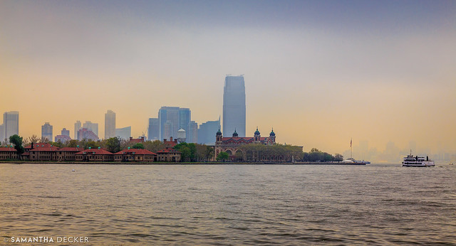Ellis Island from Liberry Island