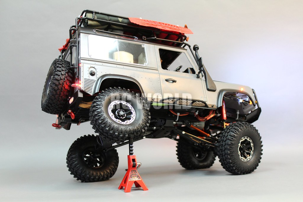 Rc Land Rover D90 Defender 90 Expedition Rc Land Rover