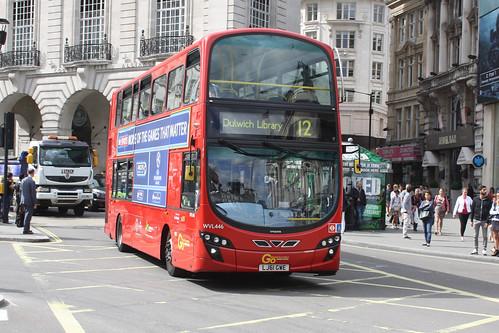 London Central WVL446 LJ61GWE