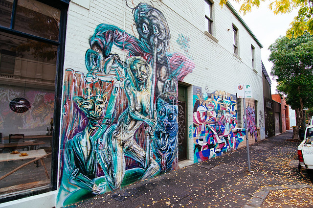 Fitzroy/Collingwood Street Art