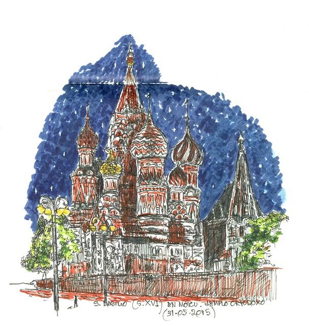 Moscú (Rusia). San Basilio