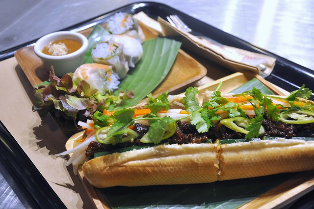 Banh Mi and Spring Rolls