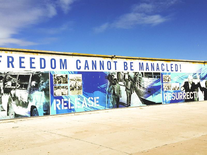 Robben Island freedom