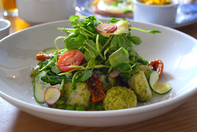 Ricotta & Parmesan Gnocchi at The Duck Inn | www.rachelphipps.com @rachelphipps