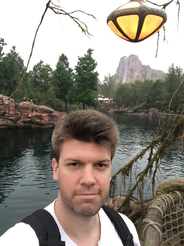 Selfie at Shanghai Disneyland