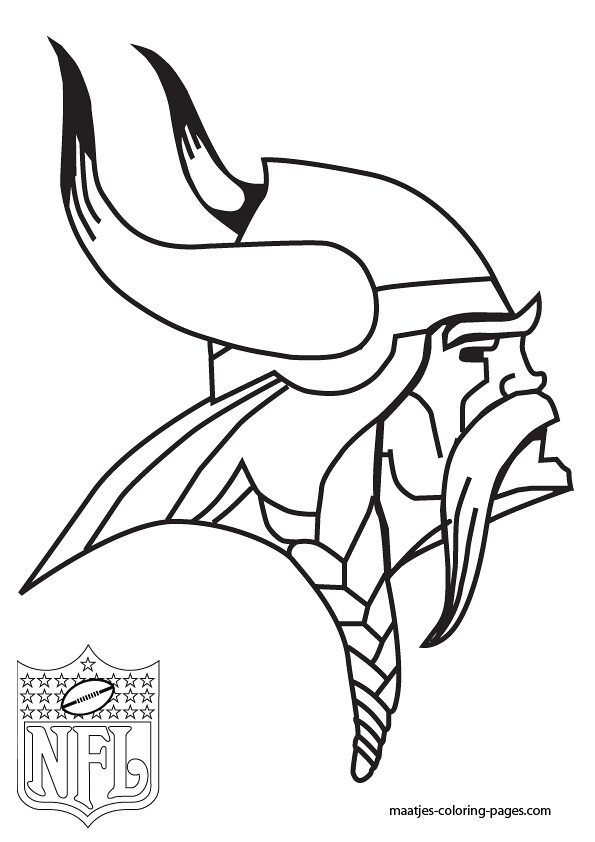 minnesota vikings coloring coloring pages