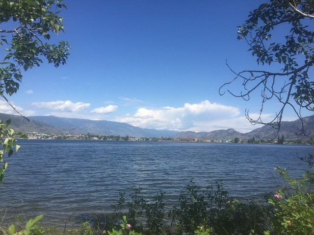 Looking at Osoyoos.