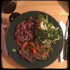 #Peppers and Steak in Red Wine Vinegar - #CucinaDelloZio
