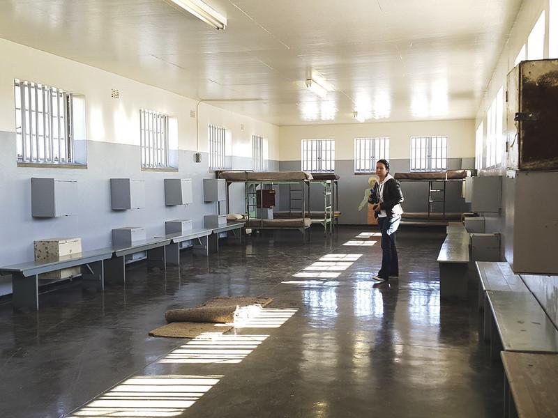 Robben Island communal cell