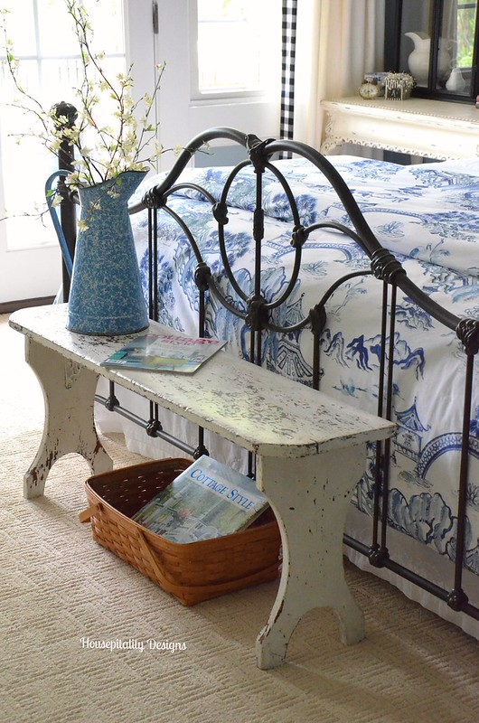 Vintage Bench-Guest Room/Housepitality Designs