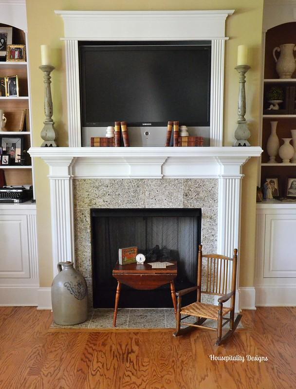 Media Room Fireplace/Mantel-Housepitality Designs