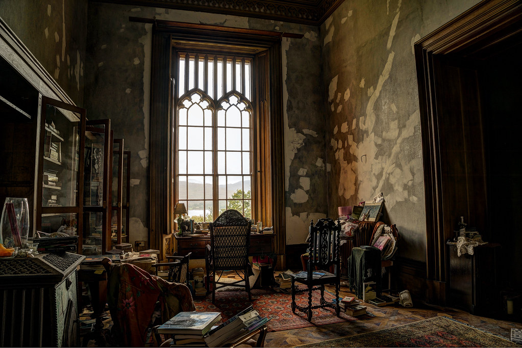 Gothic Mansion Study Room Another Used For Wi Flickr