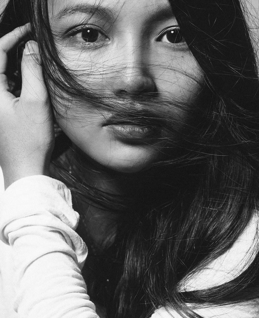 black and white portrait sony dsc nguyen cuong flickr
