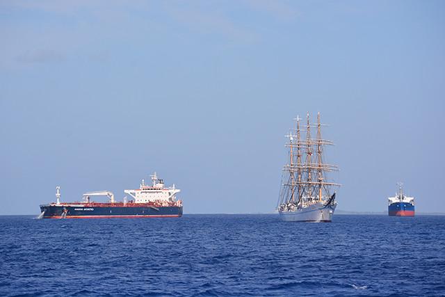 Kaiwo Maru offshore anchorage