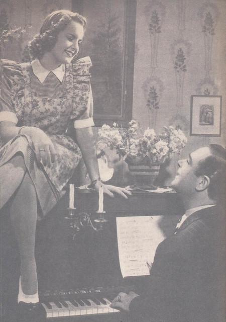 Maria Eugénia, A Menina da Rádio, 1945