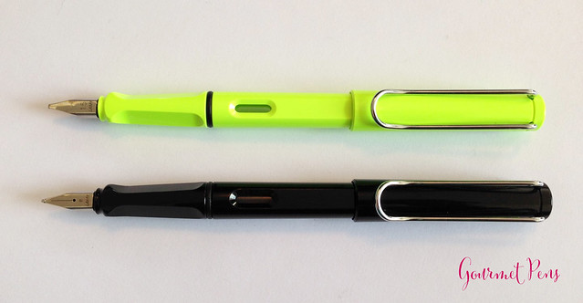 Review Lamy Safari LE 2015 Neon Lime Fountain Pen @Fontoplum0 @Lamy @LamyUSA (5)