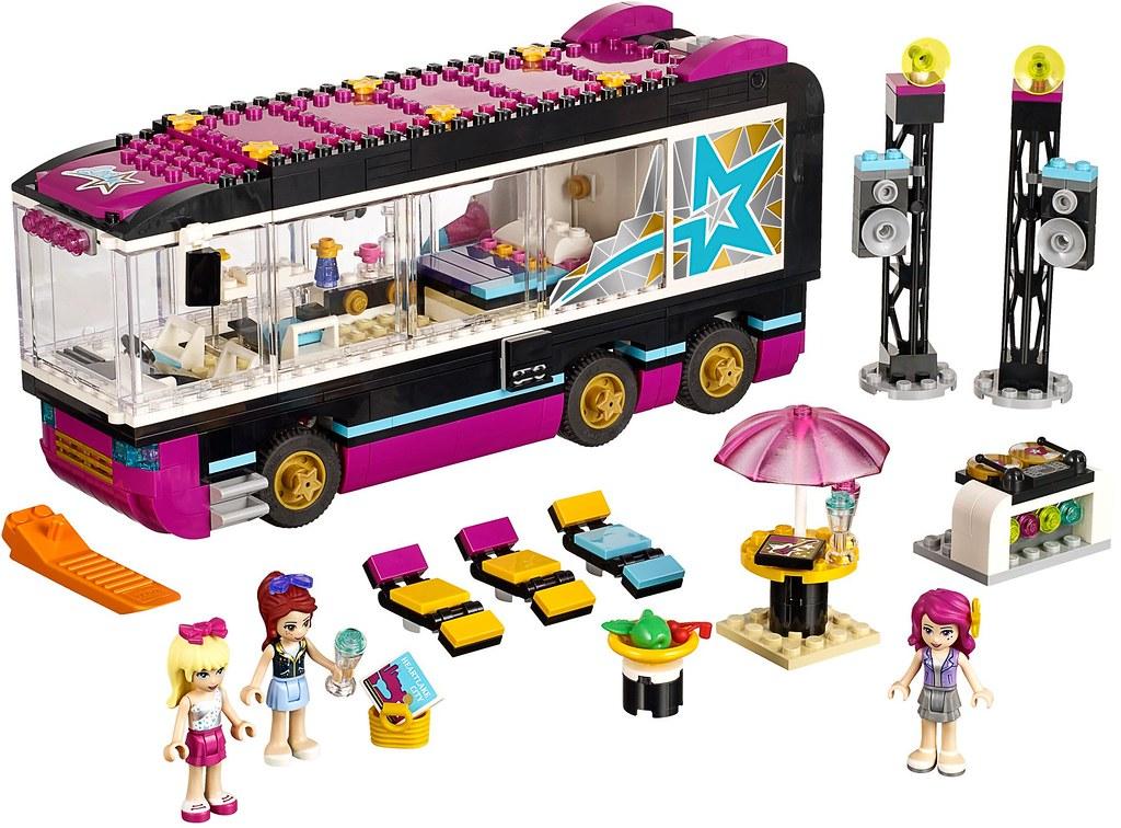 LEGO Friends 2015: 41106 - Pop Star Tour Bus