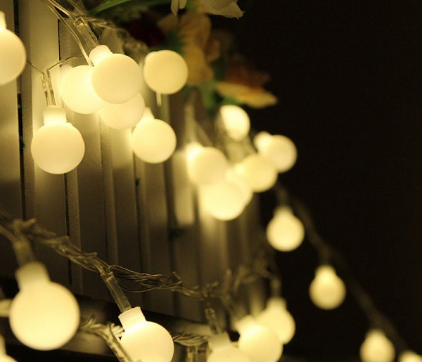 Christmas Party White String Lights Christmas White String? Flickr