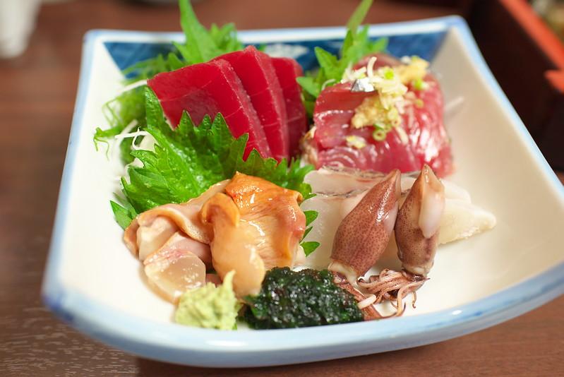 東京路地裏散歩 谷中の乃池の穴子寿司 2015年5月3日