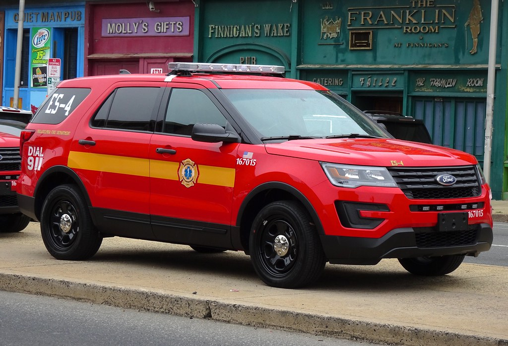 Pfd Es 4 Philadelphia Fire Department Es 4 2016 Ford