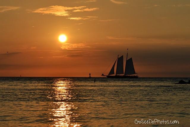 Sailboat Sunset Revisted