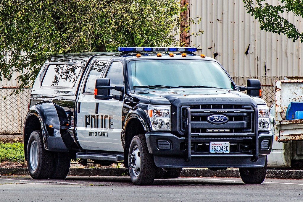 Everett Police Department Marine Operation Unit Ford F-350 ...