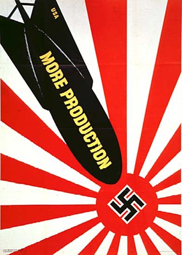 World War II Posters - More Production Nazi