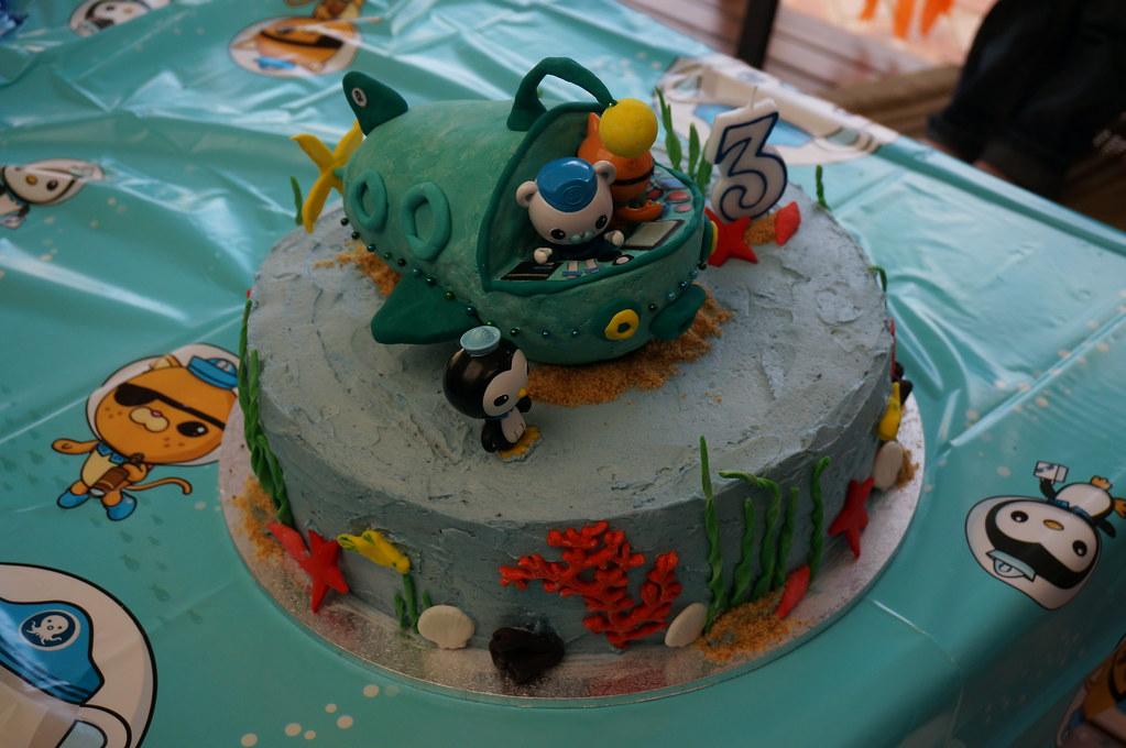 Octonauts Birthday Cake Walmart