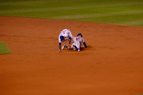Juan Lagares steals 2nd