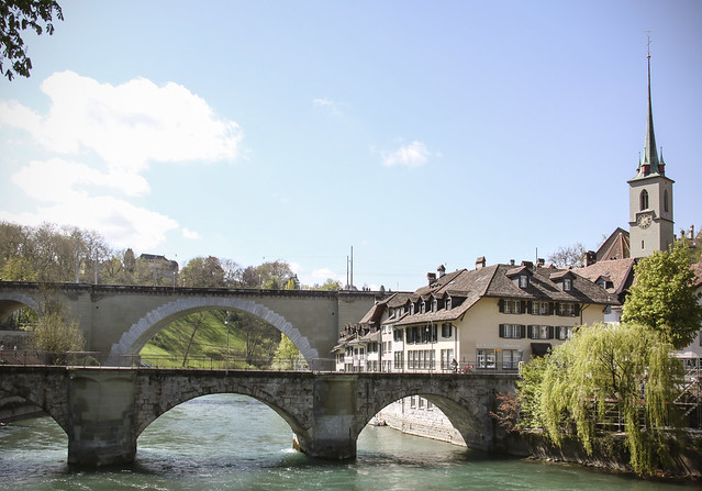 Aare River walk, Bern