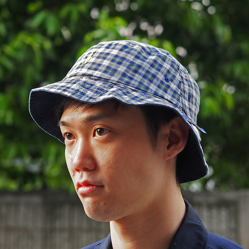 Ralph Lauren / Reversible Plaid Bucket Hat