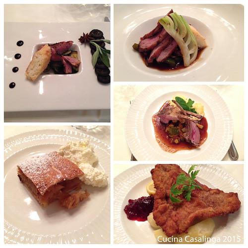 Peternhof Abendessen 1 Vor Hauptspeise