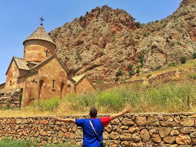 Sele en el Monasterio de Noravank (Armenia)
